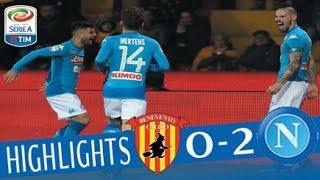 Benevento - Napoli 0-2 - Highlights - Giornata 23 - Serie A TIM 2017/18