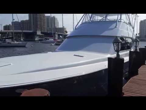 Skywater Yachts presents: 2002 65' Hatteras Sportfish - Cat's Hat