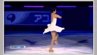 浅田真央(mao asada)  TEB 2010 Gala  バラード第1番~アンコール付き