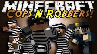 Minecraft Mini-Game : COPS N ROBBERS!
