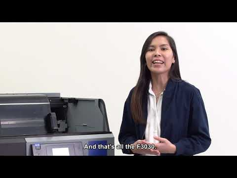 Epson SureColor SC-F3030 product introduction (Eng Subs)