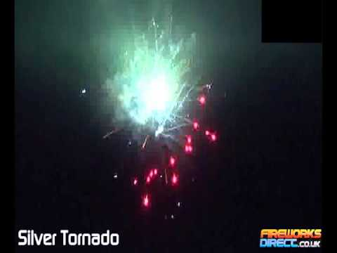 Silver Tornado - 36 Shot firework