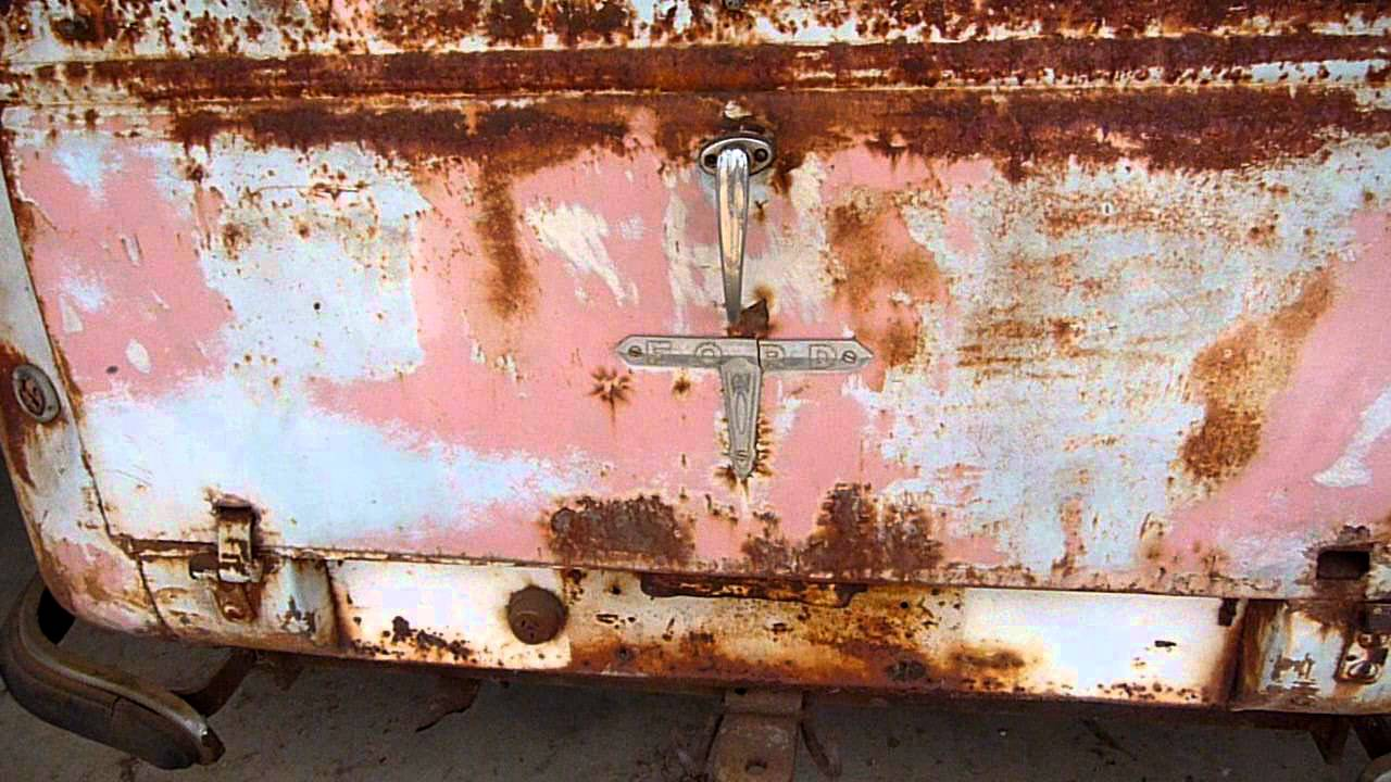 1954 Ford Mainline Utility - Paddock find (Video 1)