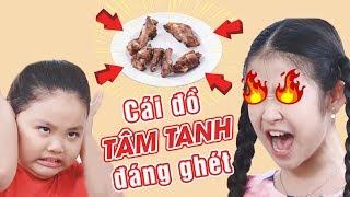 Lam Chi CHỬI Tâm Tanh sấp mặt vì dám ăn hết dĩa THỊT SƯỜN yêu thích | Gia đình là số 1