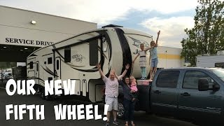 WE ARE OFFICIALLY A FULLTIME RV FAMILY!