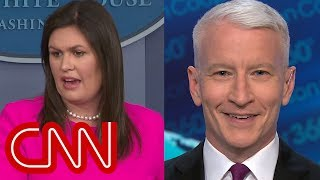 Anderson Cooper laughs at Sanders' explanation: That's rich