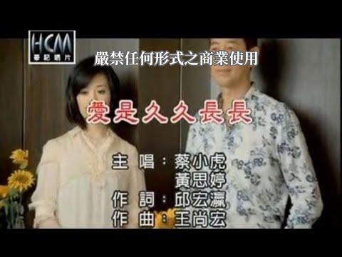 蔡小虎VS黃思婷-愛是久久長長(練唱版)