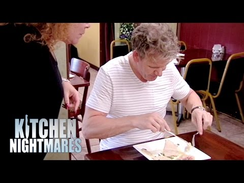 Gordon Ramsay S Food Is Flooded With Oil Kitchen Nightmares