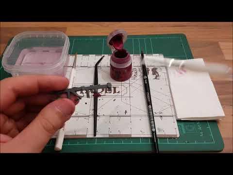 Warhammer / Tabletop für Anfänger HD★ Base Pinsel, erklärt/Funktion/ Besonderheit ★ How to paint