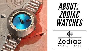 Zodiac Watch History   New Zodiac ZO6606 Astrographic 2019   Zodiac Killer???
