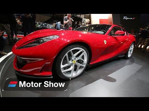 New Ferrari 812 Superfast - Geneva Motor Show 2017