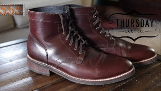 Review: Thursday Boot Co. President Boots - A Gorgeous Alternative to Mainline Heritage Brands