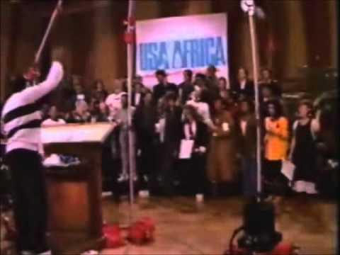 *Nosotros somos el mundo* Usa for Africa ♥