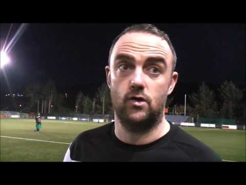 Chris Hughes post match interview Cardiff Met