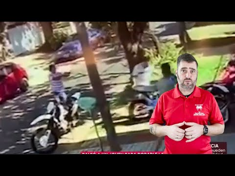 Argentinian Robbery Turns Into A Family Affair