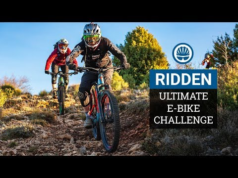 """The Ultimate E-Bike Challenge""""   Tackling Epic DH Tracks in Southern France"""