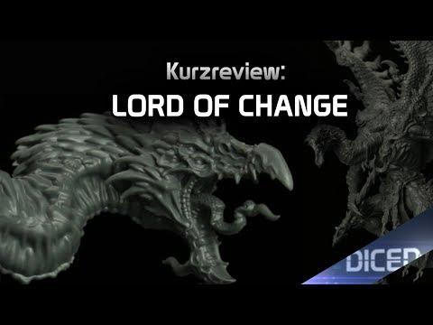 Review - Tzeentch - Lord of Change für Warhammer 40K und Age of Sigmar | Bausatz | DICED
