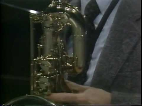 Excerpt from Sonata in F Major by Willem deFesch, arr for Baritone Sax, performed by E. Rousseau