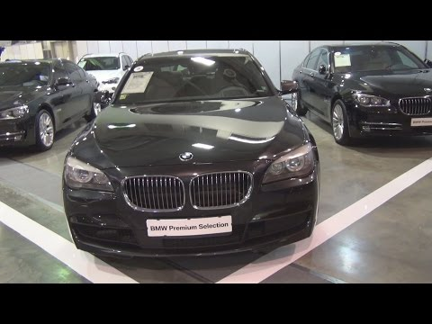 BMW 740d xDrive Sophisogray Brillianteffect (2012) Exterior and Interior in 3D