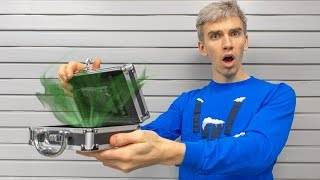 GAME MASTER MYSTERY ESCAPE ROOM SAFE from CHAD WILD CLAY OPENED!! (Exploring Scavenger Hunt Riddles)