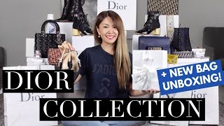 MY ENTIRE DIOR COLLECTION 2018 & MOD SHOTS | + BAG UNBOXING!
