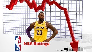The REAL reasons the NBA ratings are DOWN!