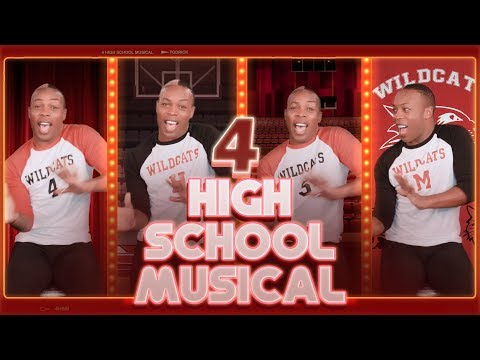4 High School Musical by @todrick