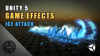 Unity 5 - Game Effects VFX - Ice Attack