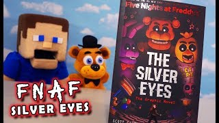 Five Nights at Freddy's The Silver Eyes GRAPHIC NOVEL Book FNAF Review Unboxing