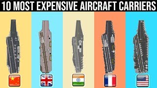 Top 10 Most Expensive Aircraft Carriers In The World (By class)