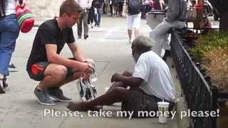 Giving to the Homeless
