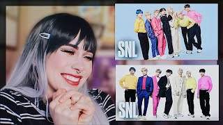 BTS x SNL Live Performance REACTION | Mic Drop, Boy With Luv