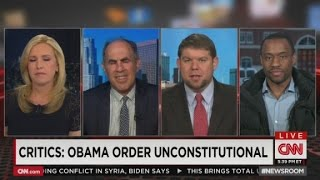 CNN guests clash over Immigration Amnesty