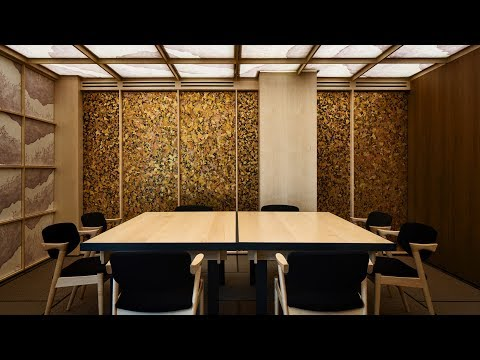 Sybarite bases Japanese restaurant interior on bamboo forests