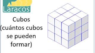 Cubos Cuantos Cubos Se Pueden Formar A Partir De Un Cubo De 3