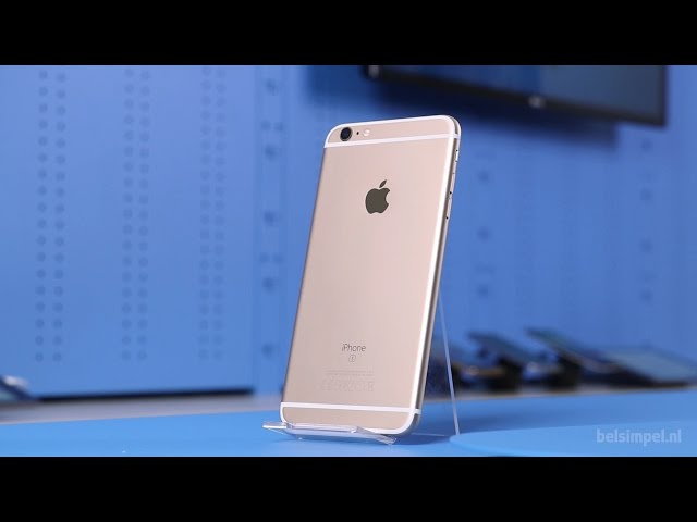Belsimpel-productvideo voor de Apple iPhone 6S Plus 128GB Rose Gold