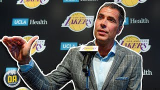 Rob Pelinka not understanding the cap is just perfect I D.A. on CBS