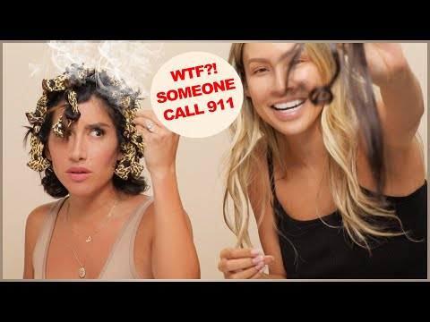 I basically changed Jen Atkin?s life | Hair Roulette Challenge