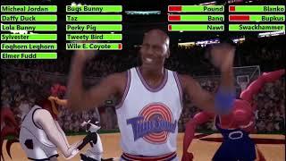 Space Jam (1996) Last 3 Games with healthbars