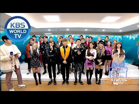 SM Family interview! [2018 KBS Song Festival/ENG/CHN/2018.12.28]