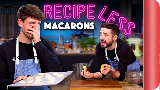 Home Cooks Attempt MACARONS Without a Recipe!!