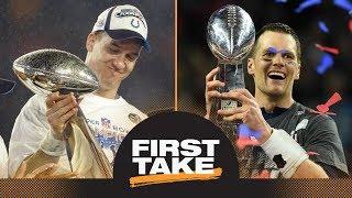 ESPN The Magazine ranks Peyton Manning as more dominant athlete than Tom Brady | First Take | ESPN