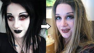 Goth to Basic White Girl Transformation | Black Friday