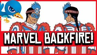 Native American Captain America BACKFIRES for Marvel Comics on Twitter!