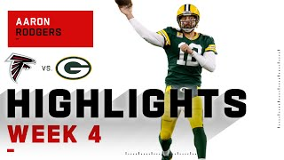 Aaron Rodgers Is a Touchdown MACHINE w/ 4 TDs | NFL 2020 Highlights