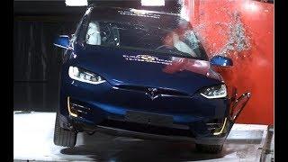 2020 Tesla Model X Crash Test / Safety Rating