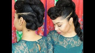 Kanekalon hair styles for short hair Video clip
