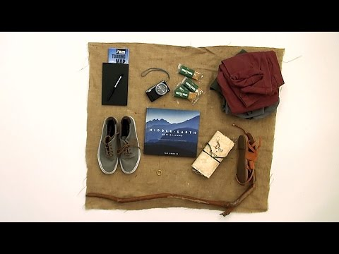 What would a hobbit pack on a trip to New Zealand?