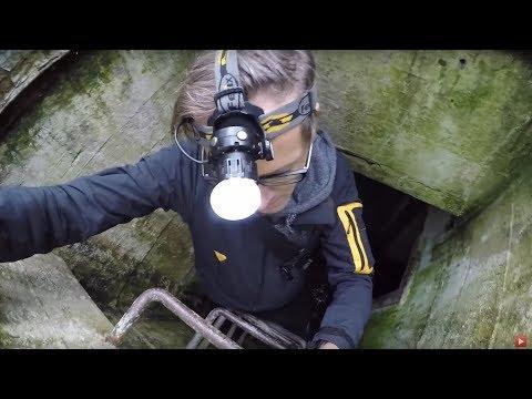 Allein in unterirdischem Treibstofflager (Lost Places)