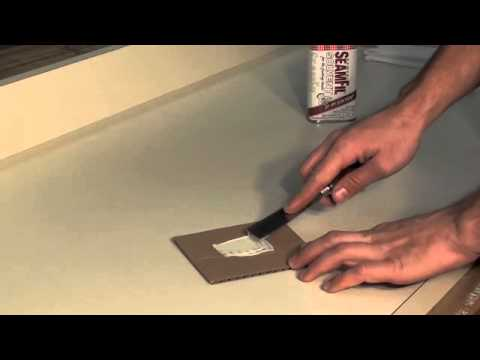 Deep Scratch Repair >> How to repair a deep scratch in your laminate countertop ...